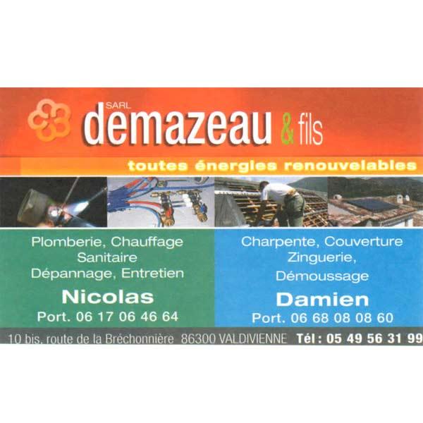 Carte De Visite SARL DEMAZEAU